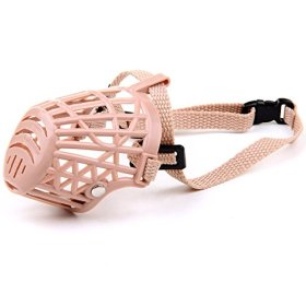 Respirable Basket Cage Muzzle Anti-Biting and Barking Dog Baskerville Ultra Muzzle Keep Safety