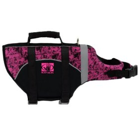 Body Glove Pet Flotation Device, Large, Black/Pink
