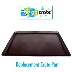 GoGo Plastic Dog Crate Replacement Pan/Tray, 42-Inch
