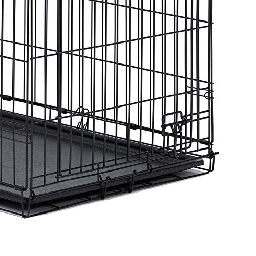 Midwest Homes for Pets 26PAN Crates, 24″, Black