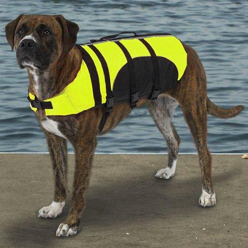 Guardian Gear Aquatic Dog Preserver, Large, 20-Inch, Yellow
