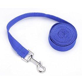 TinFmoon Dog Puppy Pet Training Obedience Lead Leash Rope 10-feet Blue