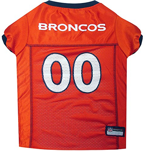 Pets First Denver Broncos Mesh Jersey, XX-Large
