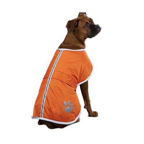 Zack & Zoey Nor'Easter Blanket Coat, X-Large, Orange