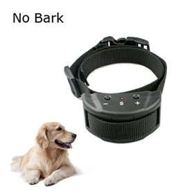 Sminiker Advanced Electronic Anti Bark Dog Collar with No Harm Training Sound and Vibration Collar for Puppy and Small Dog with 7 Levels Button Adjustable Sensitivity Control