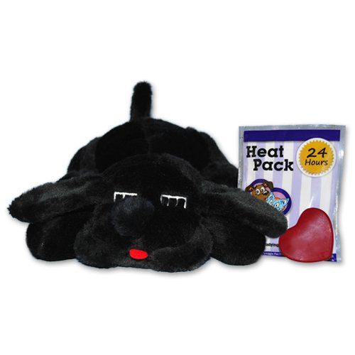 Smart Pet Love Snuggle Puppy Behavioral Aid Toy, Black Lab