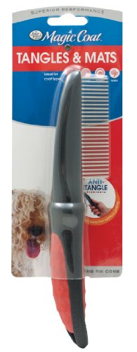 Four Paws Magic Coat Dog Grooming Rotating Pin Comb