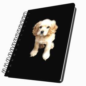 Got Yo Gifts Adorable Puppies Acrylic Journal, Medium