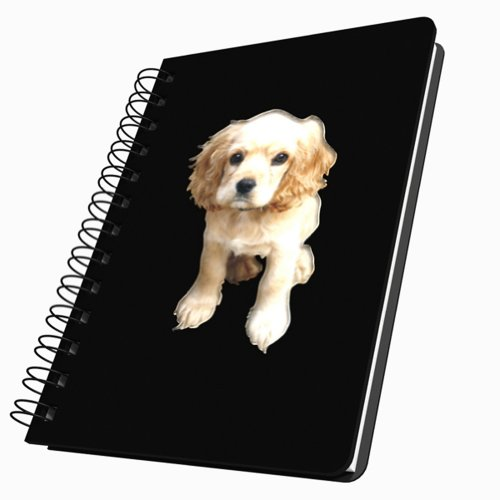 Got Yo Gifts Adorable Puppies Acrylic Journal, Medium