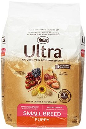 ULTRA Small Breed Puppy Dry Dog Food 8 Pounds