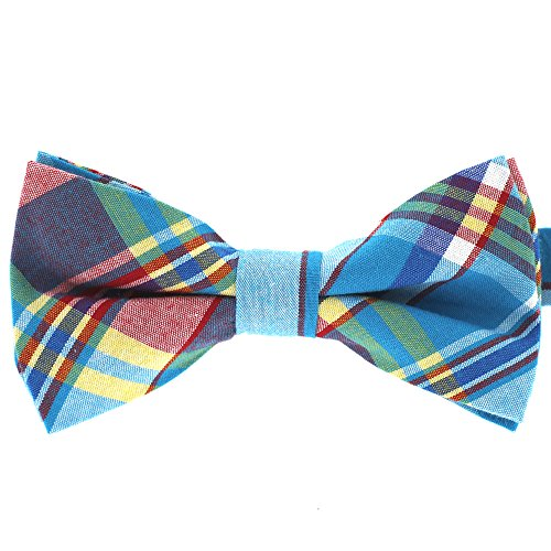 Tok Tok Designs® Formal Bow Ties for Small Dogs (BK321, 100% Cotton)