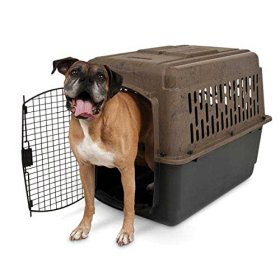 Ruffmaxx Camouflage Pet Kennel, 40-Inch 70 to 90-Pound