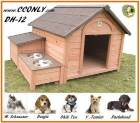 DH-12 Dog House Outdoor / Indoor Wooden Dog House