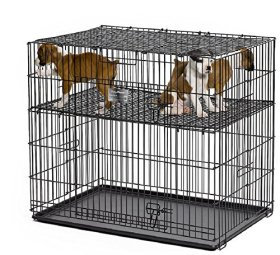 MidWest Homes For Pets Puppy Playpen 224-10 with 1″ Floor Grid