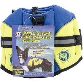Paws Aboard BY1100 Neoprene Doggy Life Jacket, XX- Small