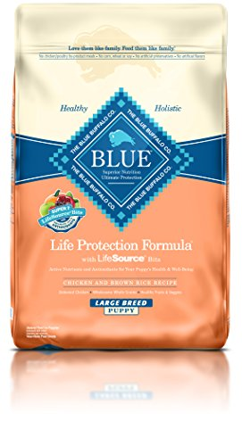 Blue Buffalo BLUE Puppy Chicken & Brown Rice Large Breed  30 lb