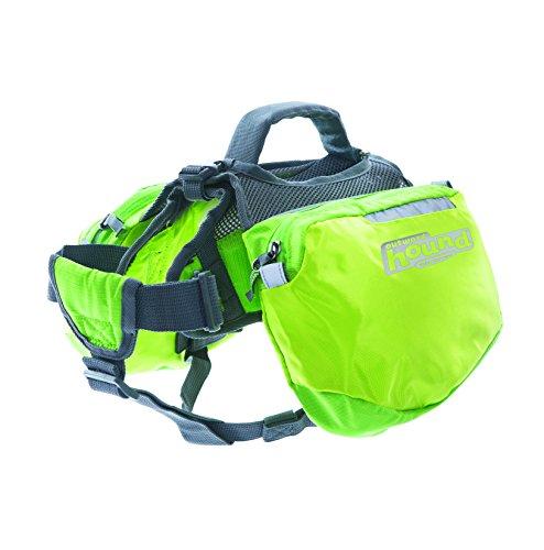 Outward Hound Kyjen  22014 Quick Release Backpack Saddlebag Style Dog Backpack, Extra Large, Green