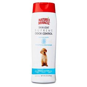 Nature's Miracle Supreme Odor Control Puppy Shampoo, 16 oz.