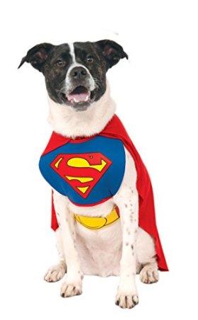 Rubies Costume DC Comics Superman Pet Costume, X-Large
