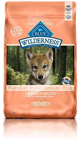 Blue Buffalo Wilderness Puppy Chicken Formula Large Breed – Grain Free 24 lb