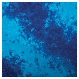 Liberty Mountain Tie Dye Bandana with Upc andTag (Blue)
