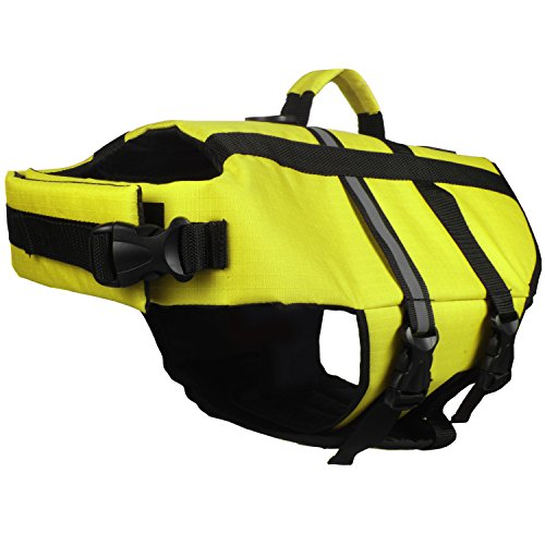 American Kennel Club Pet Flotation Life Vest – Yellow L