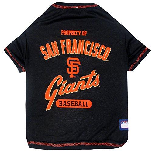 Pets First MLB San Francisco Giants Dog Tee Shirt, Medium