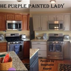 Can I Paint My Kitchen Cabinets Ikea Pull Out Pantry Cabinet The Purple Painted Lady Stephanie Kapral Customer Chalk