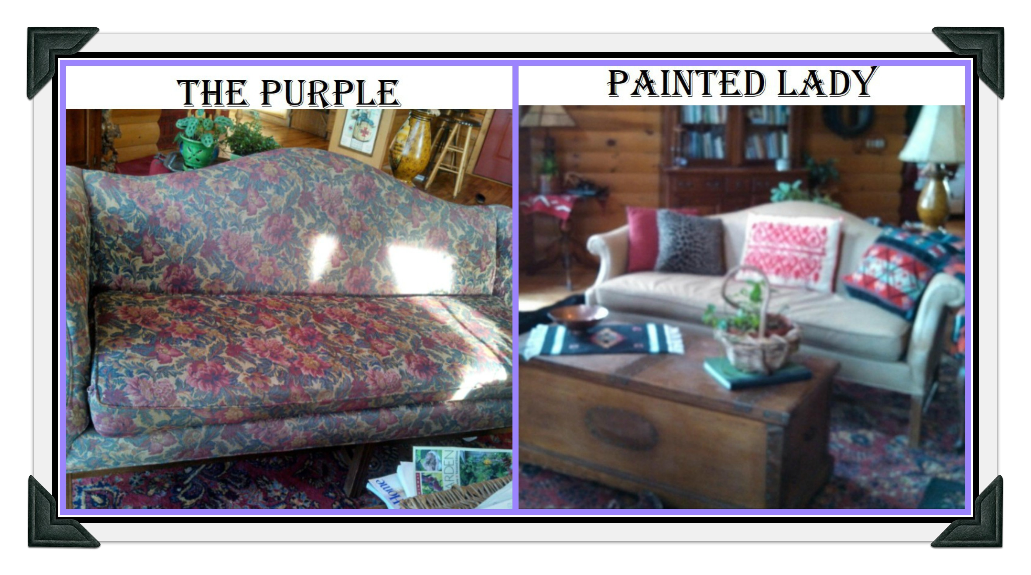 Using Chalk Paint to Paint Your Couch or Wing Back Chair
