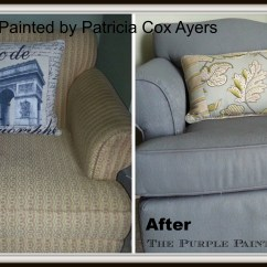 Spray Paint For Leather Sofa Sofaworks Wall Art Using Chalk To Your Couch Or Wing Back Chair