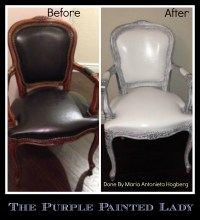 Using Chalk Paint to Paint Your Couch or Wing Back Chair ...