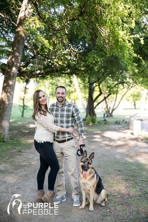 Dog Joins Engagements