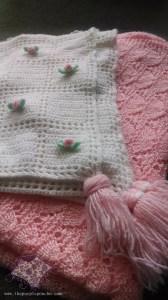 Rose bud blanket 1999