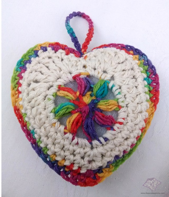 Sachet of Love Multi-heart
