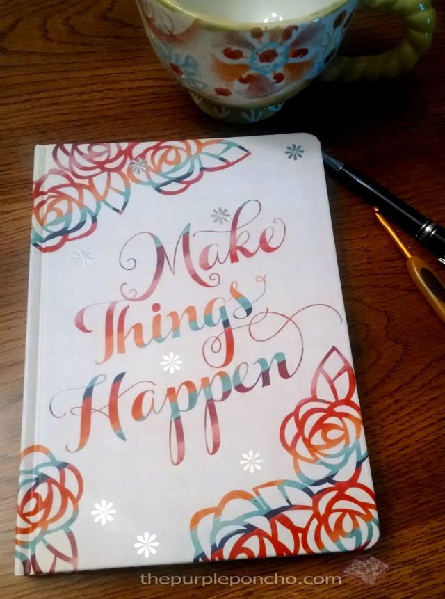 My first crochet pattern notebook