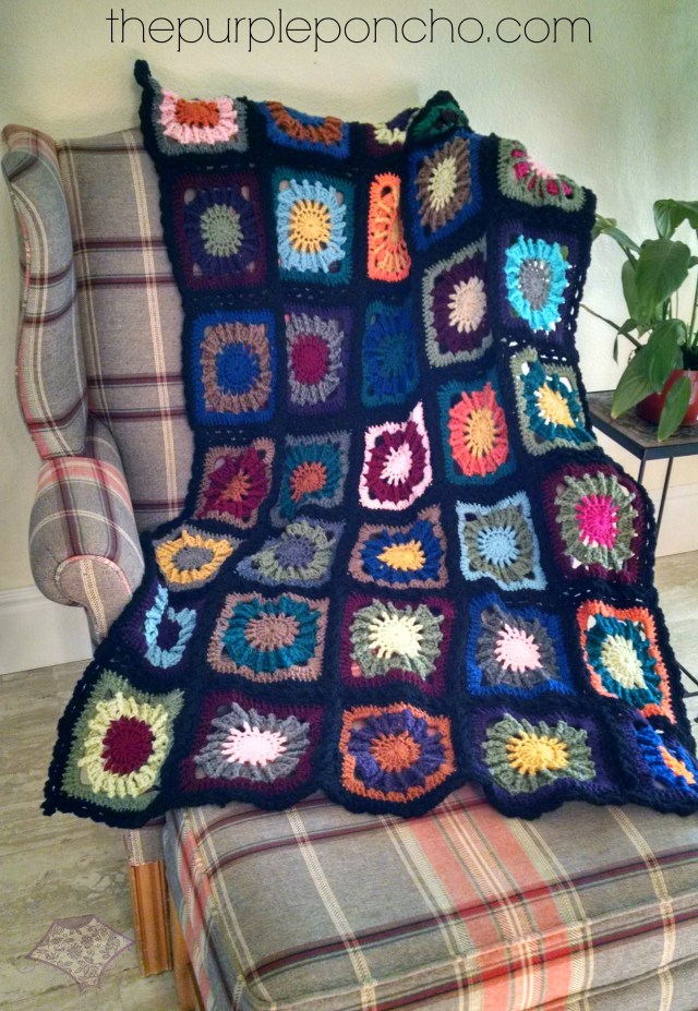 Mood Blanket Complete by The Purple Poncho