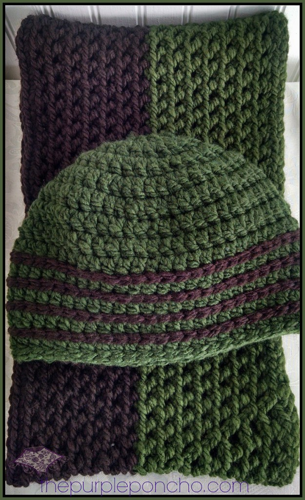 Favorite Hat Scarf Set Two Free Crochet Patterns The Purple Poncho