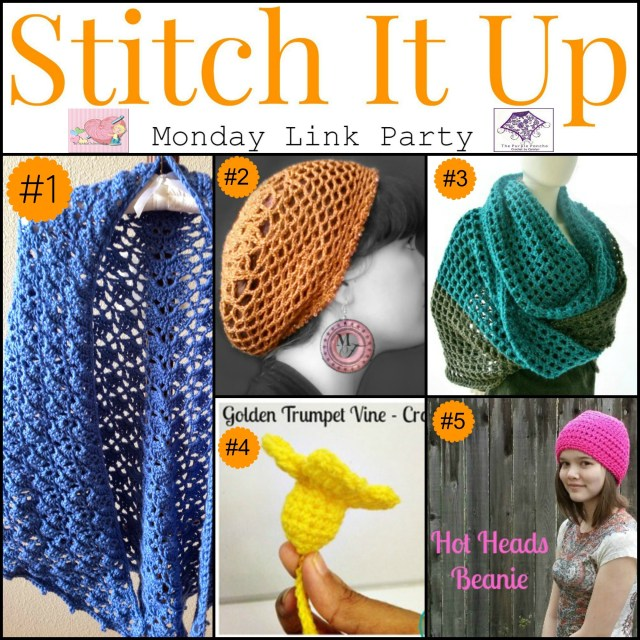 Featured on - Stitch It Up Link Party #1