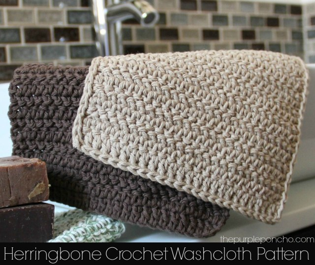 Hbhdc Washcloth Pattern by The Purple Poncho