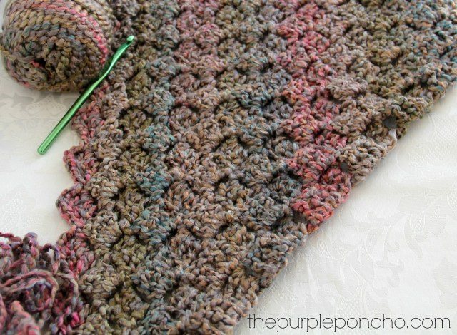 Crochet Corner To Corner Throw With Rope Edging Free Patterns