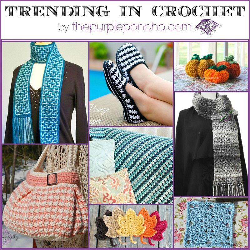 Trending in Crochet #3 by The Purple Poncho