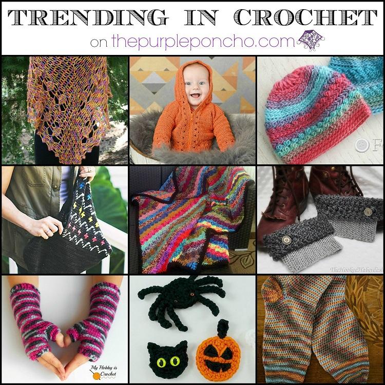 Tending in Crochet #5 on The Purple Poncho