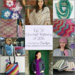 Top 10 Crochet Patterns of 2016 by The Purple Poncho
