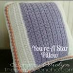 You're A Star Pillow – Free Crochet Pattern