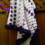 Mitered Baby Granny Square Blanket – Free Crochet Pattern