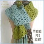 Wasabi Pop Scarf – Free Crochet Pattern