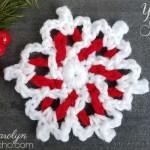 Yarn Snowflake – Free Crochet Pattern