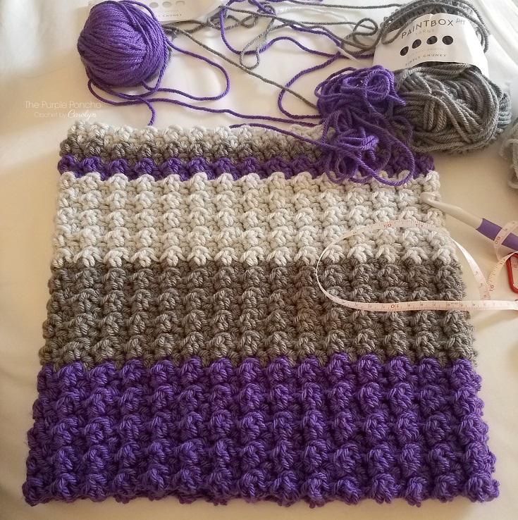Laguna Cowl Free Crochet Pattern The Purple Poncho