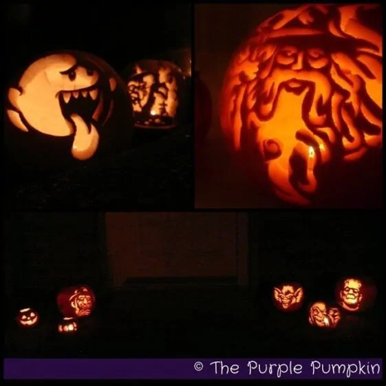 Pumpkin Carvings - The Purple Pumpkin Blog