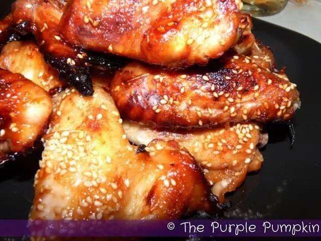 Char Siu Chicken Wings